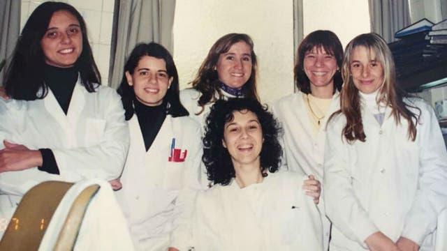 Trabajó como microbióloga en el Hospital Fernández.