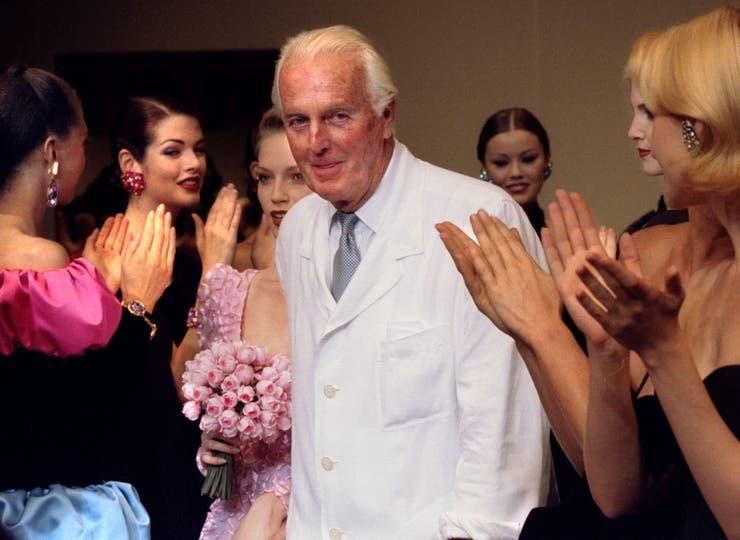 El sábado por la noche falleció el diseñador francés que vistió a Audrey Hepburn, Jackie Kennedy y Grace Kelly