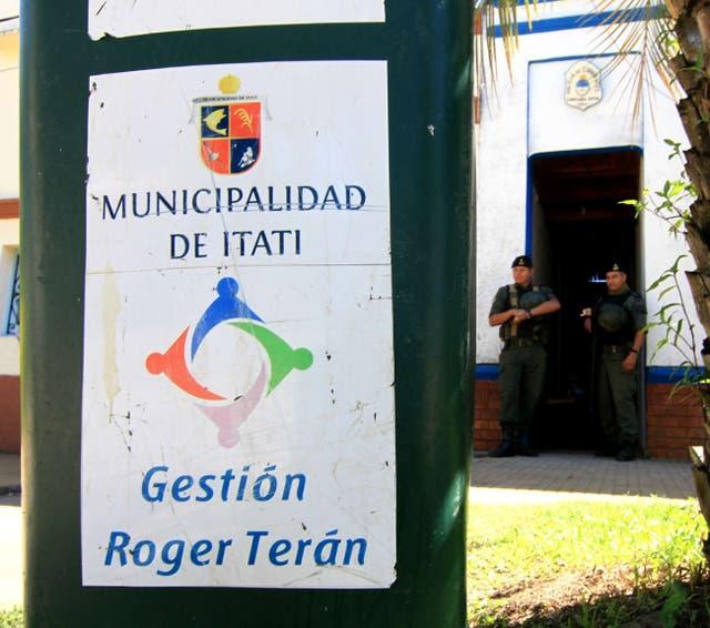 La Gendarmería Nacional allanó la Municipalidad de Itatí
