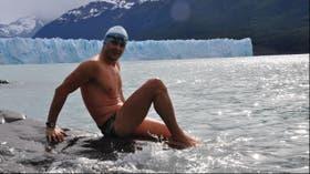 Ola entrenó en la Patagonia