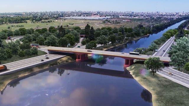 Así será el nuevo puente Lacarra que unirá la Ciudad con Lanús