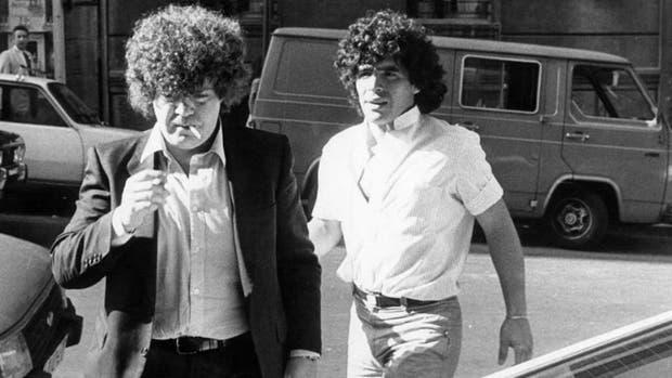 Otros tiempos: Cyterszpiller y Maradona