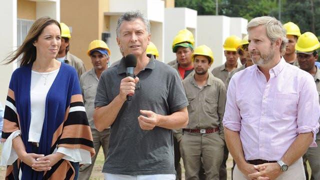 Vidal y Frigerio presentaron el programa