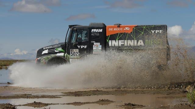 El argentino Villagra avanza en el Dakar: este martes terminó segundo en la etapa Uyuni-Salta