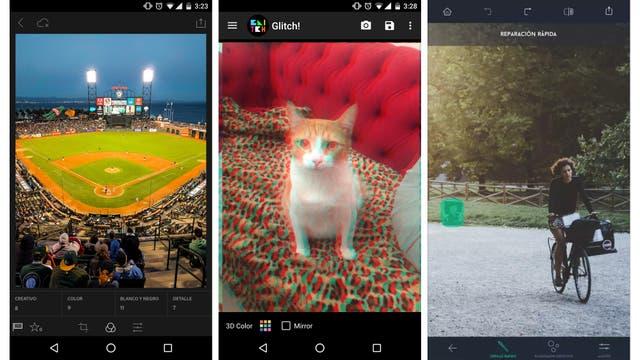 Lightroom, Glitch y TouchRetouch, tres aplicaciones para editar imágenes en el celular