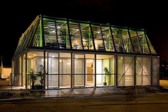 Casa francesa ganadora de la competencia 2012.