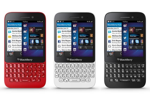 BlackBerry Q5 estará disponible en rojo, blanco, negro y rosa, y llegará al mercado en la segunda mitad de este año