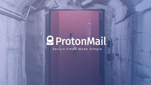 Los servidores de ProtonMail se alojan bajo 1000 metros de roca granítica, en Suiza