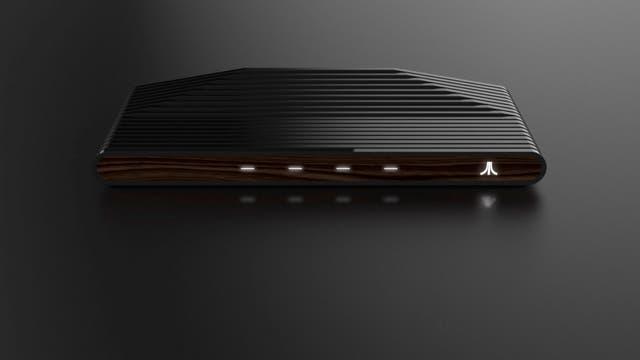 Así es la consola Ataribox, basada en parte del diseño del modelo Atari 2600 de la década del 70