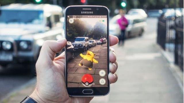 Pokémon Go es un ejemplo de realidad aumentada
