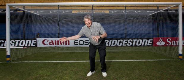 El día que recordó su penal más celebrado por los hinchas de Boca junto a canchallena