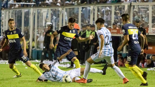 Boca empató 2-2 con Atlético en Tucumán