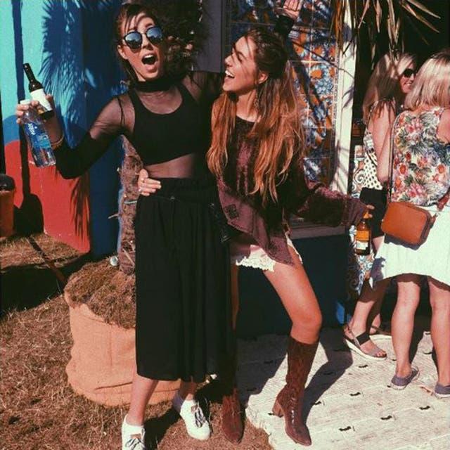 Gina estaba con su hermana en un festival de música en Hyde Park en Londres cuando ocurrió el asalto.
