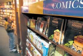 En El Ateneo Grand Splendid, como en otras 45 librerías del país, los cómics conquistaron lugar propio