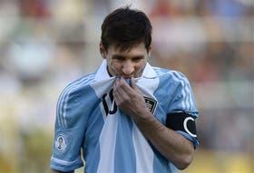 Messi no se perdió un partido por las eliminatorias desde que debutó, en 2005