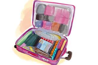 Bolsos y valijas: cómo armarlos y aprovechar bien todo el espacio