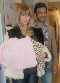 La foto más tierna de Fabián Cubero con su bebé recién nacida, Sienna