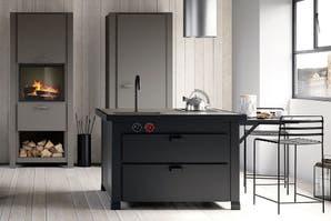 Una cocina con diseño italiano