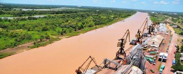 El puerto de Barranqueras, en el Chaco