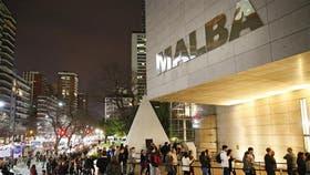 Malba, con la punta del Obeslico en su explanada, fue uno de los lugares más convocantes en la edición del 2015