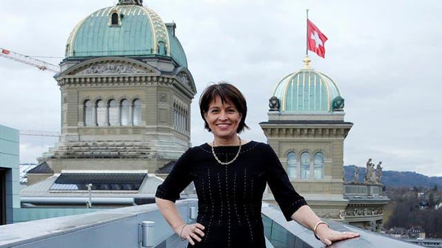 Llega la presidenta de Suiza y podría anunciar inversiones