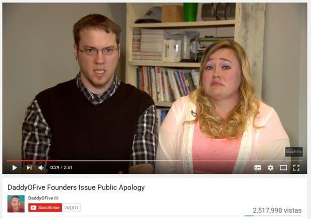Mike y Heather Martin se disculparon a través de un video luego de que comenzaron a crecer las denuncias de abuso infantil