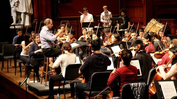 La Orquesta de Harvard, por primera vez en la Argentina