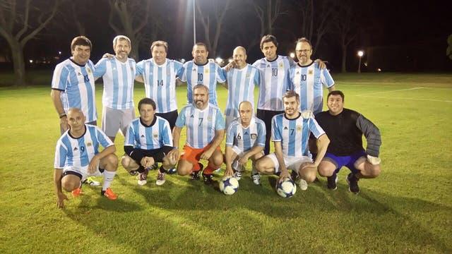 El equipo ganador se impuso por 4 a 3