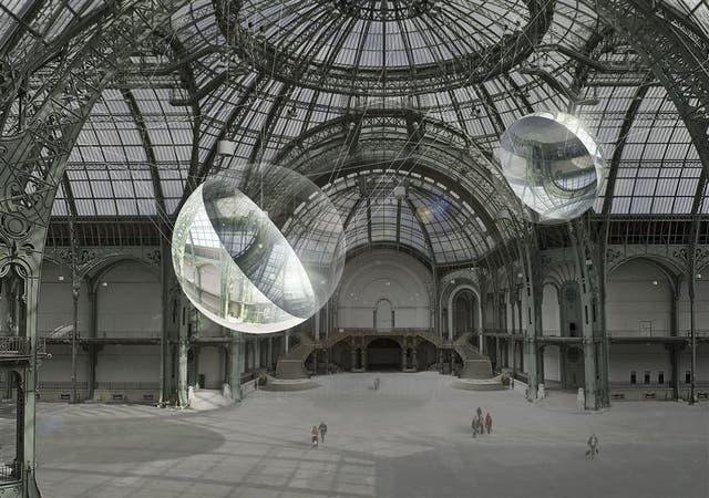 En 2015, Saraceno lanzó su Proyecto Aeroceno en el Grand Palais y el Palais de Tokyo, en París, durante la Conferencia sobre Cambio Climático de las Naciones Unidas (COP21)