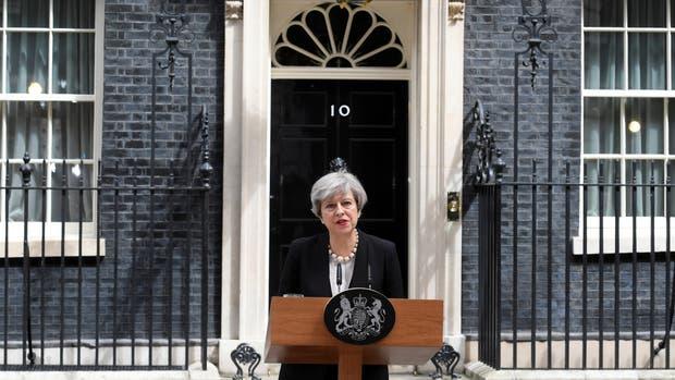 """Theresa May, tras el ataque en Manchester: """"Los terroristas nunca ganarán"""""""