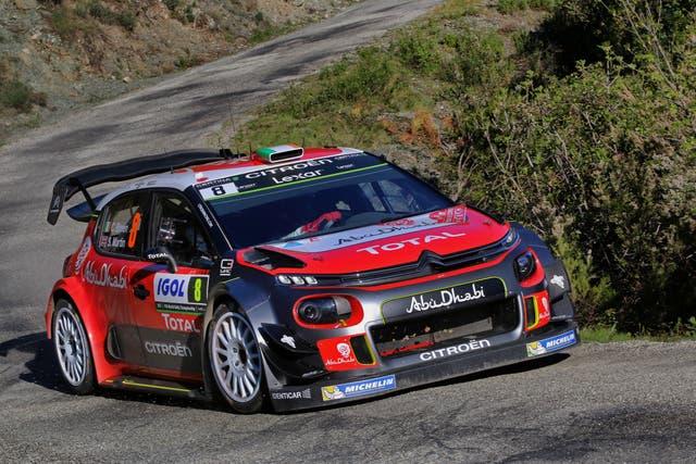 La versión WRC del Citroën C3