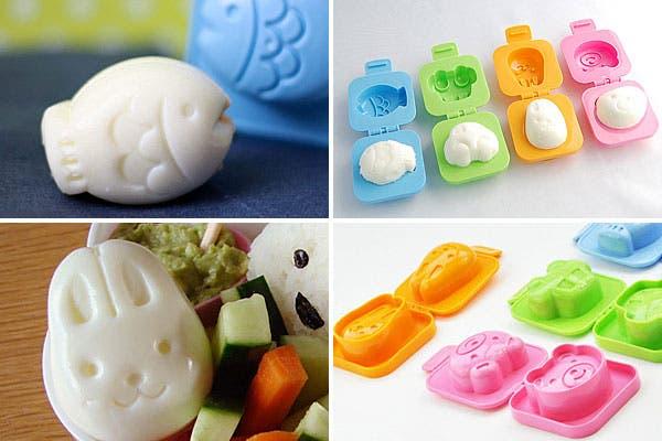 Ahora podés hacer huevos duros con formas, ideal para decorar cualquier menú. Foto: Monkeyzen.com