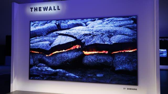 La pantalla de microLED de Samsung: la diagonal mide 3,7 metros