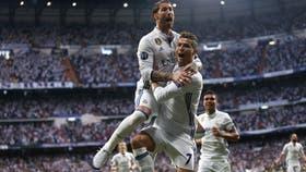 Sergio Ramos y Cristiano Ronaldo, emblemas de Real Madrid que quedó a la puerta de una nueva final de Champions