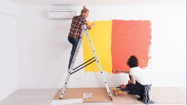 Renovar una casa recién comprada o la que se está por vender, ambas son tareas útiles