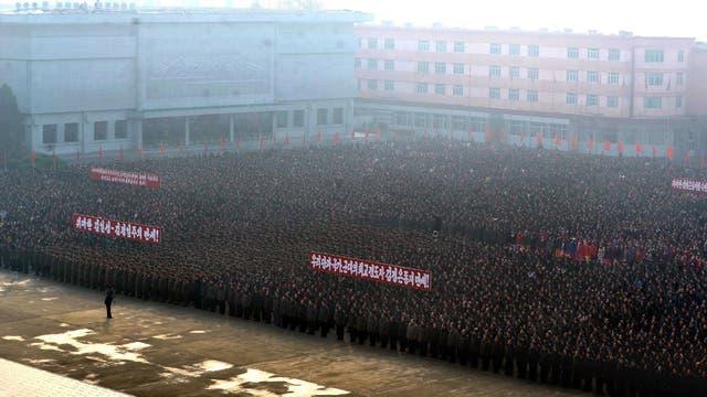 Corea del Norte celebra sus progresos militares