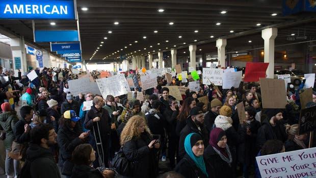 Nueva York, Boston, Washington, Los Ángeles se levantan contra Trump