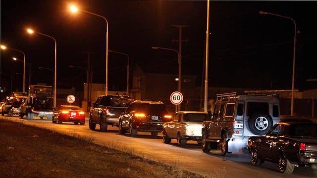 Los vehículos -entre lo que había Audi, Land Rover y autos de colección- fueron llevados a un depósito judicial. Foto: LA NACION / Horacio Córdoba