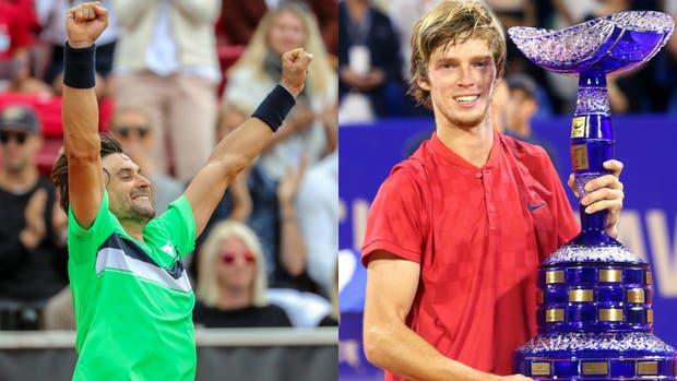 Ferrer y Rublev, campeones en Bastad y Umag, respectivamente