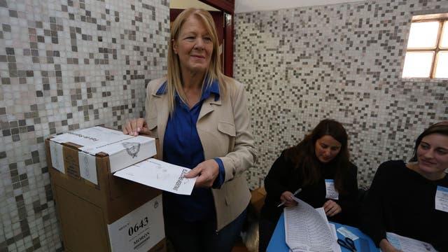 "Margarita Stolbizer dijo que espera una competencia ""pareja"" en la provincia"