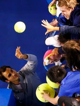 Roger para tresss. Foto: Reuters