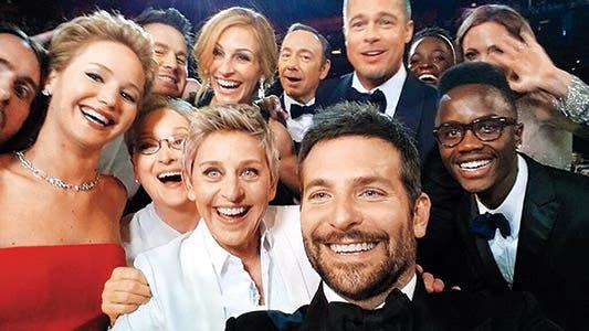 Selfie en los premios Oscars (2014)