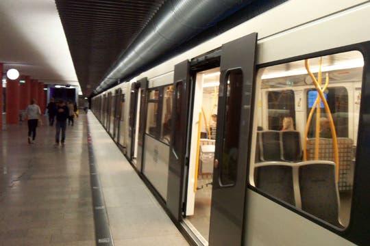 La red de subterráneos consta de seis líneas. Foto: LA NACION / Juan Pablo De Santis