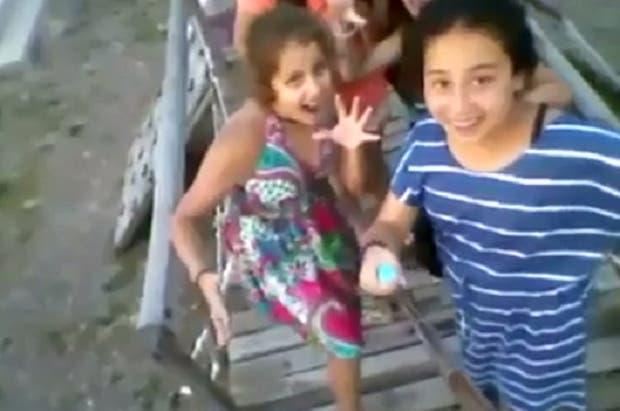 El video de las chicas, llamativamente parecido al de los chicos de San Juan