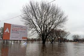 San Antonio de Areco, una de las zonas más afectadas por las inundaciones