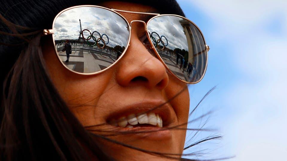 París festeja la realización de los Juegos Olímpicos 2024 en Francia. Foto: AP / Francois Mori