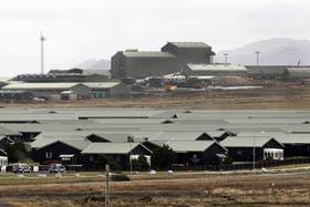 La base militar Mount Pleasant, en las islas Malvinas