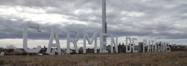 El ingreso a Carmen de Patagones, Buenos Aires