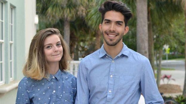 La estadounidense Beth David y el mexicano Esteban Bravo estudiaron juntos en el Ringling College de Sarasota, Florida, desde 2013