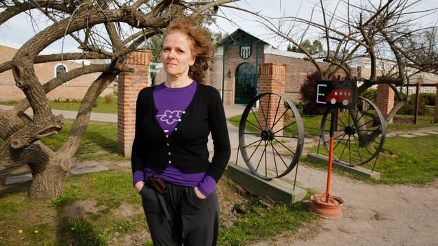 Diana Iceruk vive en Cañuelas desde 2006